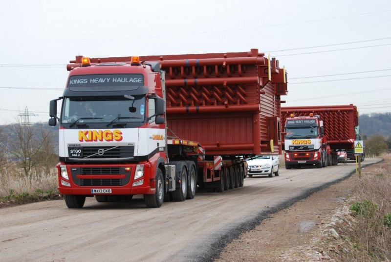 5 Axle Steering Semi Low Loader
