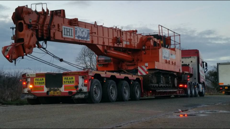 90 Ton Low Loader